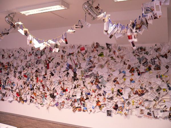 Papierflieger, Walburga Schild-Griesbeck, Atelier Freiart (1)