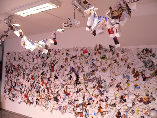 Papierflieger, Walburga Schild-Griesbeck, Atelier Freiart (2)