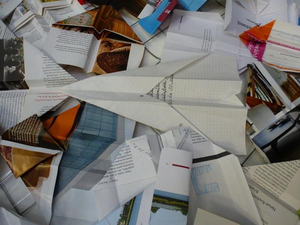 Papierflieger, Walburga Schild-Griesbeck, Atelier Freiart (6)