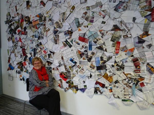 Papierflieger, Walburga Schild-Griesbeck, Atelier Freiart (7)