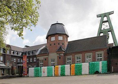 Installation der Künstlerin Walburga Schild-Griesbeck, Atelier Freiart, Dinslaken (3)
