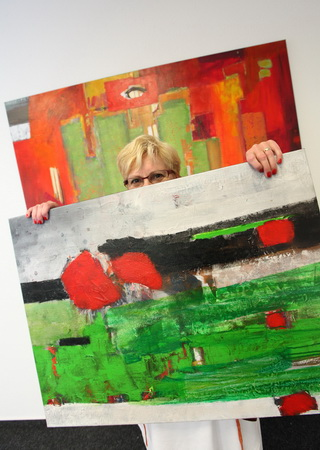 Künstlerin Walburga Schild-Griesbeck (3)