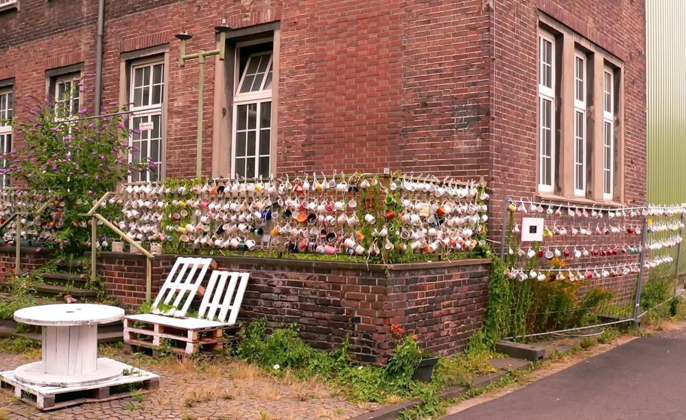 Noch alle Tassen am Zaun (3)