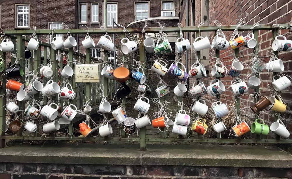 Noch alle Tassen am Zaun (5)