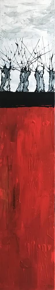 Walburga, Nr. 18049, 100x20cm