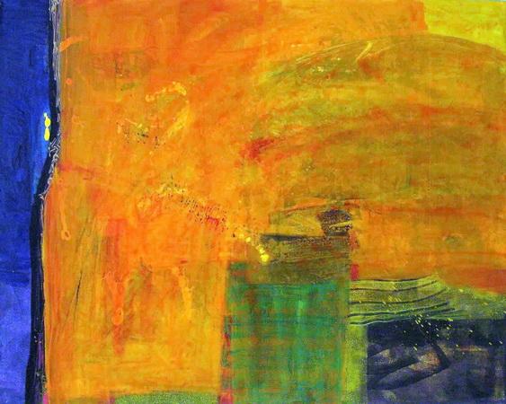 Farbflächen öffnen visionäre Räume